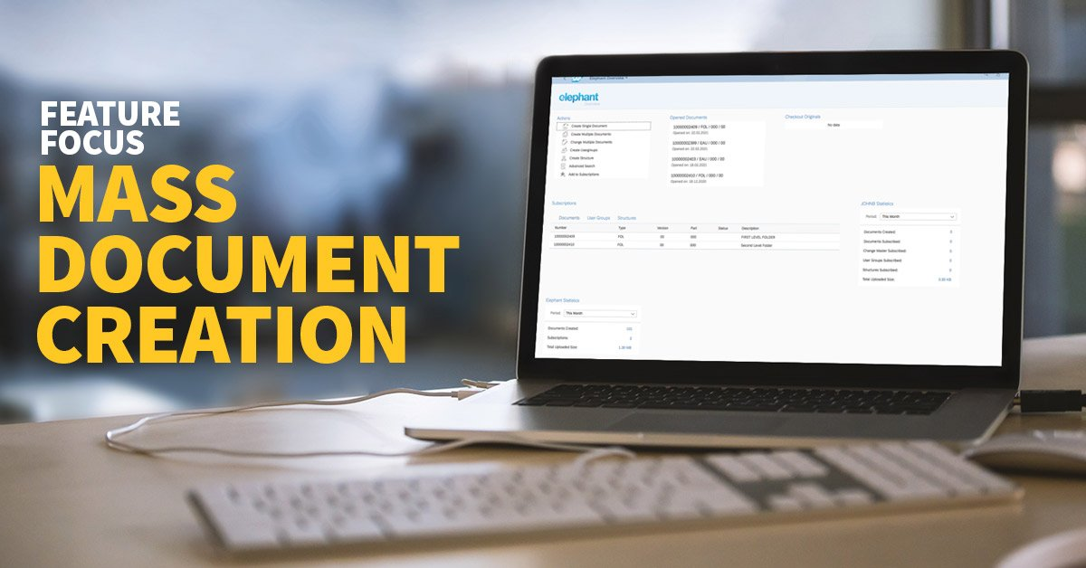 SAP DMS - Mass Document Creation